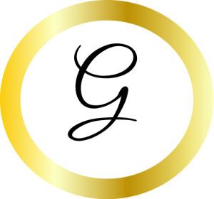 Guldhjulet endast symbolen